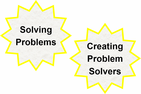 Teaching Problem Solving