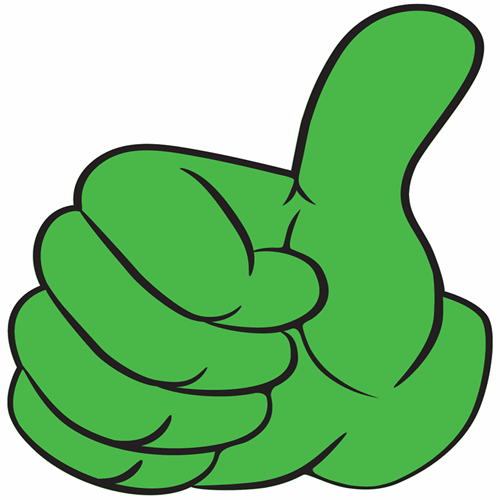Assessment methods thumbs up